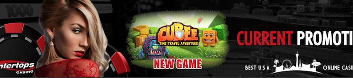 Free Spins for Cubee Slots at Intertops Casino