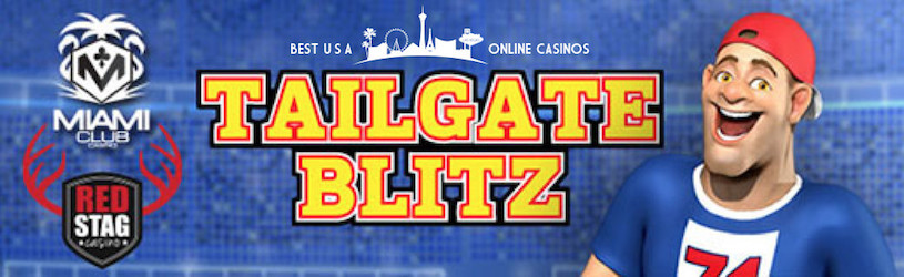 Free Spins for Tailgate Blitz Slots at Deck Media Casinos