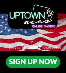Uptown Aces Casino Sign Up Banner