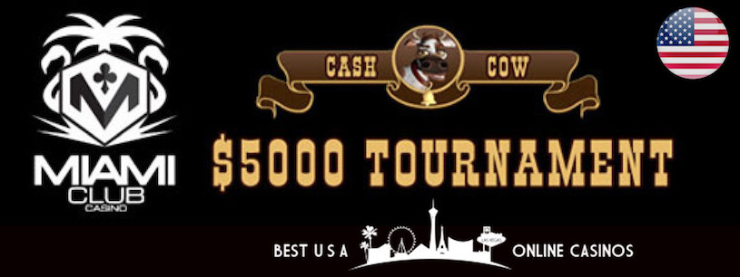 Cash Cow Slots Tournament at Miami Club March 2019