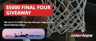$5,000 Final Four 2019 Giveaway at Intertops