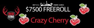 Crazy Cherry Slots Tournament at Red Stag Casino