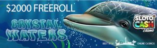 Crystal Waters Freeroll Tournament at Sloto'Cash