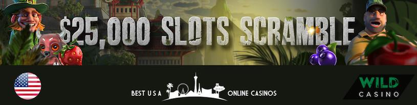 $25,000 Slots Scramble at Wild Casino for USA Players