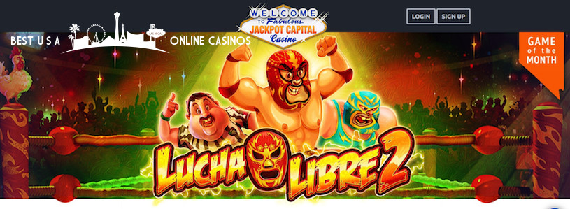 Lucha Libre 2 Slots at Jackpot Capital