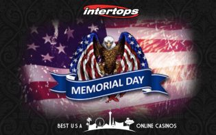 Memorial Day Casino Bonuses for Patriots at Intertops
