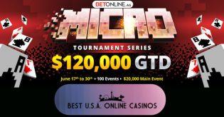 BetOnline Poker Micro Tournament Series June 2019