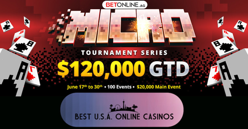BetOnline Poker Micro Tournament Series June 2019