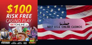 BetOnline $100 Risk Free Casino Bet