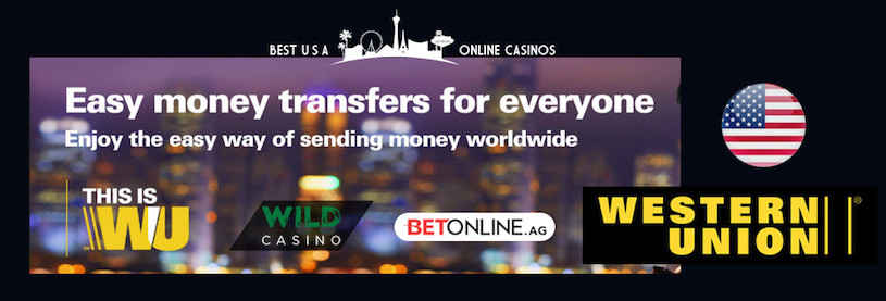 Deposit with Western Union at USA Online Casinos in 2019