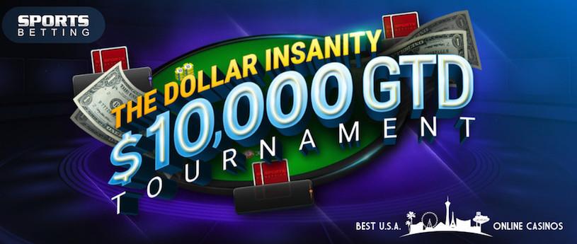 Dollar Insanity Poker Tournament at SportsBetting.ag