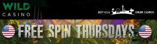Free Spin Thursdays Promotion at Wild Casino