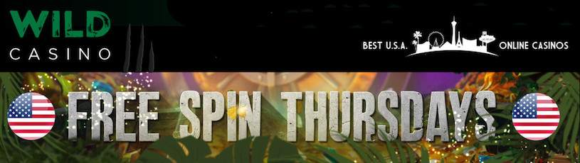 Free Spin Thursdays Promotion at Wild Casino
