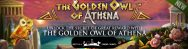 The Golden Owl of Athena Slots Banner