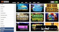 MyBookie Casino Slots Games Sample