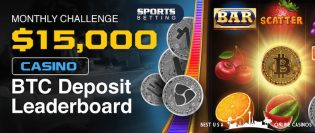 SportsBetting.ag BTC Deposit Leaderboard Challenge