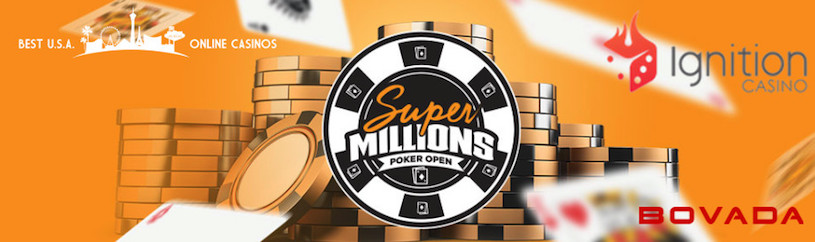 Super Millions Poker Open at Bovada and Ignition