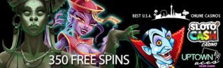 Vampires VS Zombies Promo Gives Out 350 Free Spins