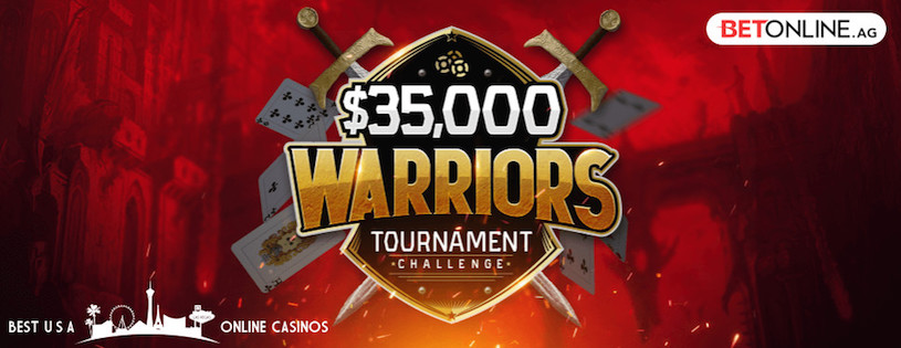 Huge 35 000 Poker Warriors Tournament At Betonline Best Usa
