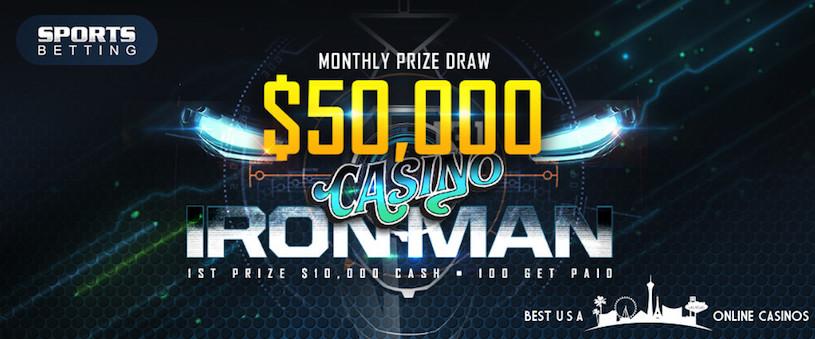 Casino Ironman Promotion SportsBetting.ag