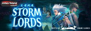 Free Spins for Storm Lords Slots at Intertops