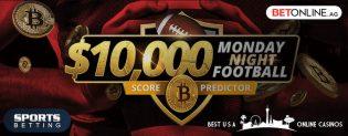 Win $10,000 for Predicting Monday Night Football Scores