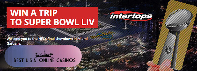 Win a Trip to Super Bowl LIV at Intertops Sportsbook