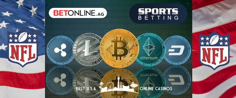 Cryptocurrency Deposit Bonuses at U.S. Online Sportsbooks for the 2019 NFL Season