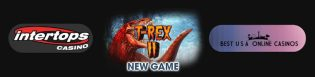 Free Spins for New T-Rex Slots at Intertops Casino