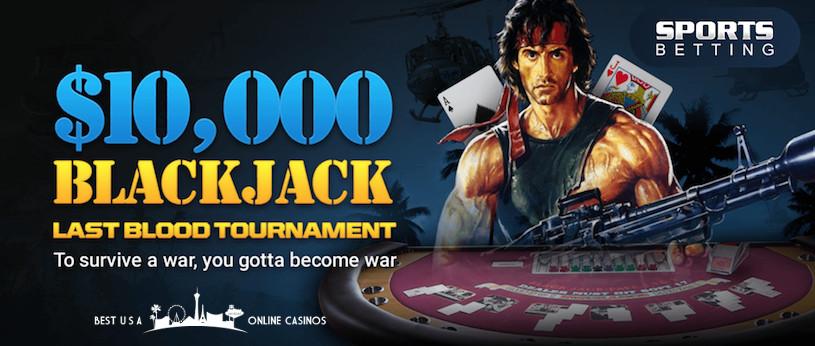 Last Blood Blackjack Tournament SportsBetting.ag