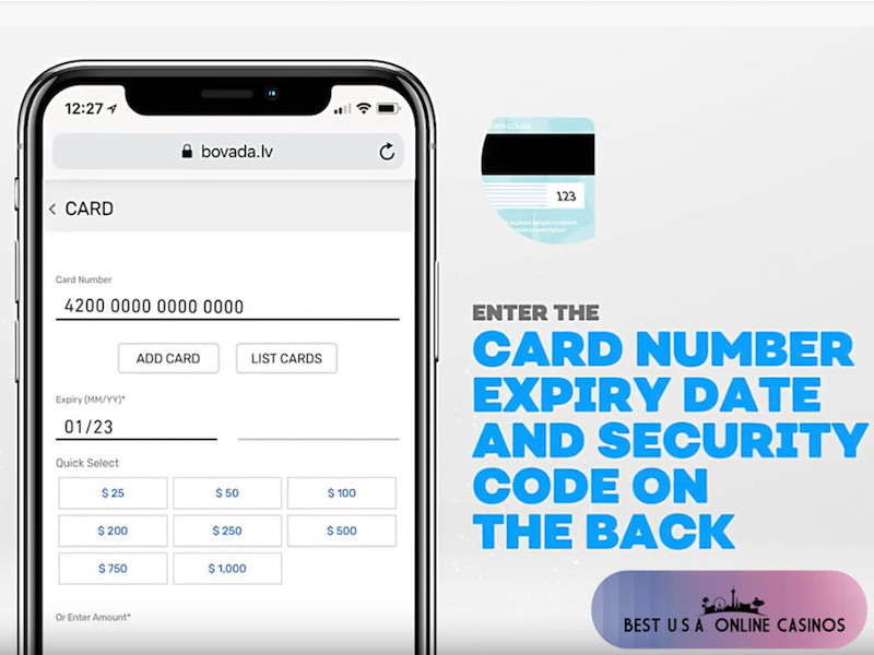 How to Deposit with Credit Cards at Bovada | Best USA Online