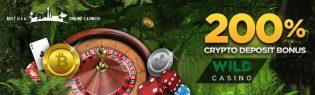 Wild Casino Special Crypto Bonus