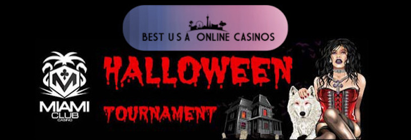 Halloween Slots Tournaments at USA Online Casinos for 2019