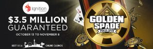 Ignition Casino Golden Spade Poker Open