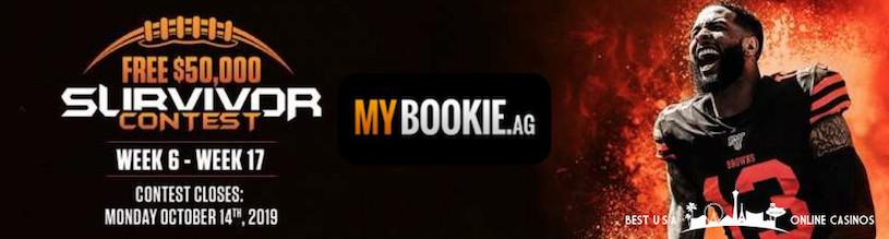 MyBookie Second Chance Survivor Pool for NFL 2019