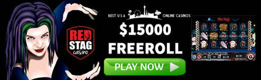 Red Stag Casino Slots Freeroll for Halloween 2019