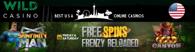 Wild Casino Free Spins Frenzy Reloaded
