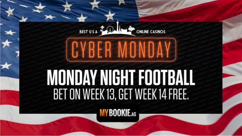 Cyber Monday Night Football at MyBookie