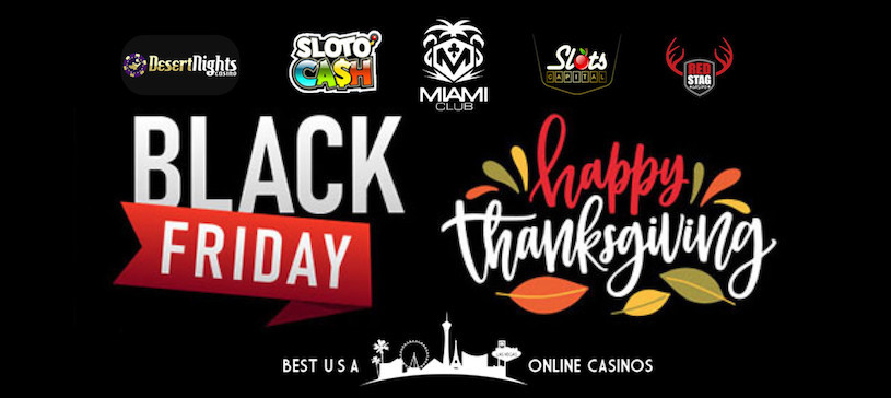 Free Spins and Deposit Bonuses for Black Friday 2019