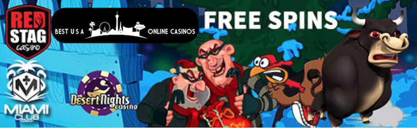 Free Spins at USA Online Casinos for November 2019