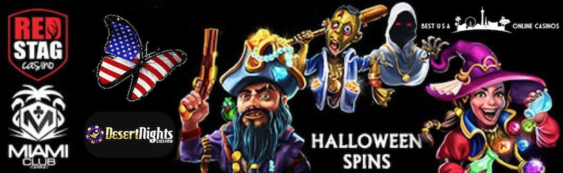 Halloween Free Spins at Top U.S. Online Casinos