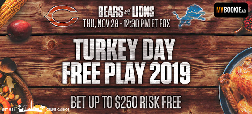 MyBookie Turkey Day Free Play 2019