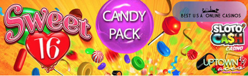Sweet Package of Deposit Bonuses and Free Spins