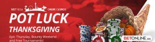 Thanksgiving 2019 Poker Tournaments at BetOnline