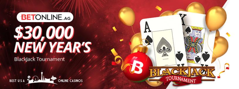 BetOnline New Year's Blackjack Tournament for 2019