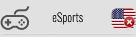 eSports: NO