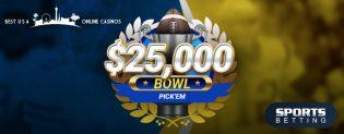 NCAA 2019 Bowl Pick'em Contest at SportsBetting.ag
