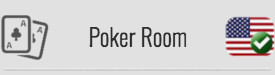 Poker Room: YES