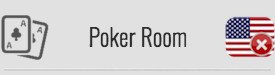 Poker Room: NO