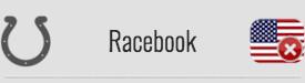 Racebook: NO